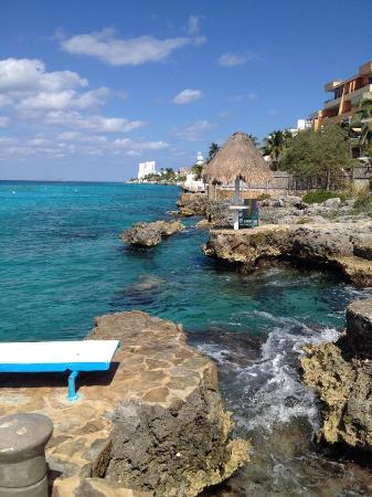 Condumel Condobeach Apartments: view from our beach