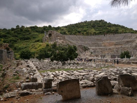 Theater - Picture of Ancient City of Ephesus, Selcuk ...