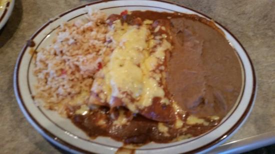 Casa Manana Mexican Restaurant Cheese Enchiladas