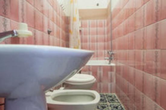 Hotel Europa: bagno