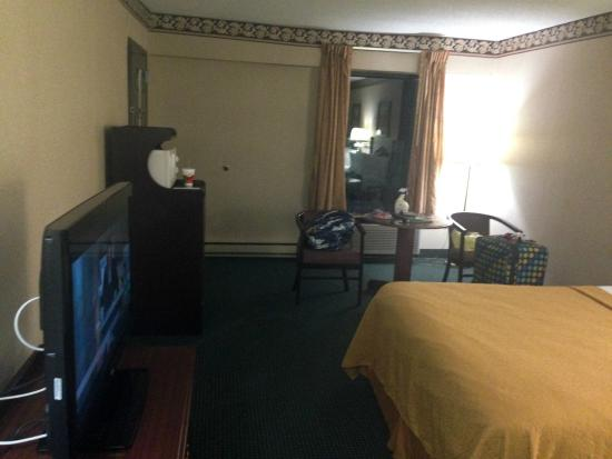 Quality Inn Hillsville: Spacious rooms!