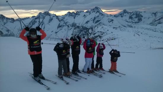 Les Deux-Alpes, France: Quelques élèves!