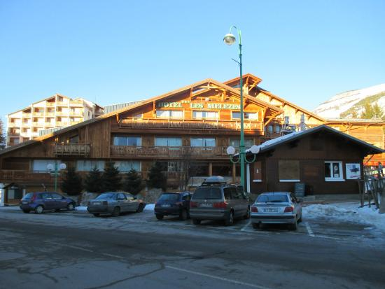 Hotel Les Melezes: Hotel