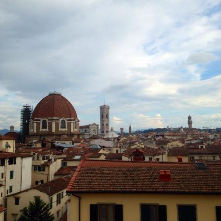 Bellavista: Incredible view from the balcony
