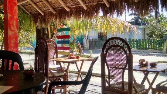 El Cafecito: Petite terrasse sympathique