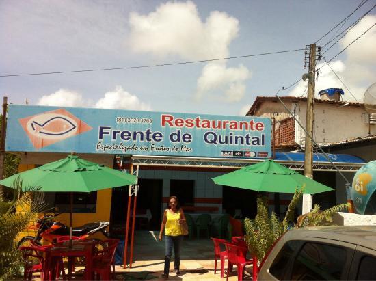 Acesso Picture Of Restaurante Frente De Quintal