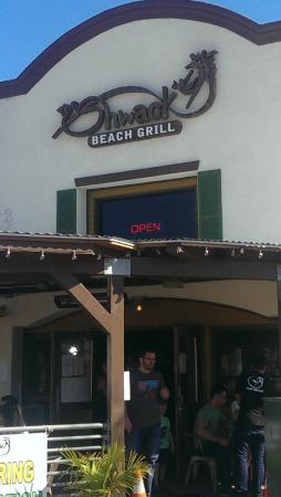 The Shwack Beach Grill: Front of Restaurant