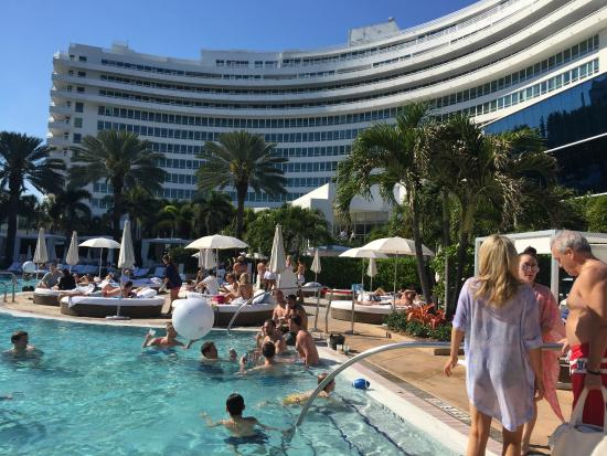 Fontainebleau Miami Beach Pool Side