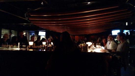 The Bar At Houston S Restaurant In North Miami Beach
