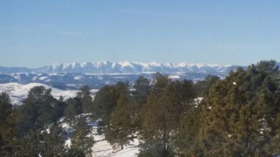 Whispering Pines Bed and Breakfast and Vacation Home Rental: The view from our room! It's simply breathtaking!