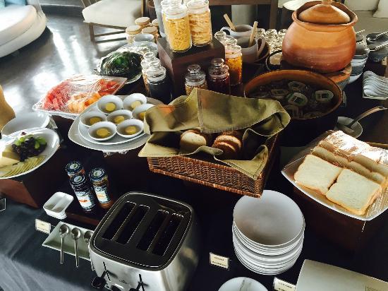 """Sala Khaoyai: the breakfast """"buffet""""......."""