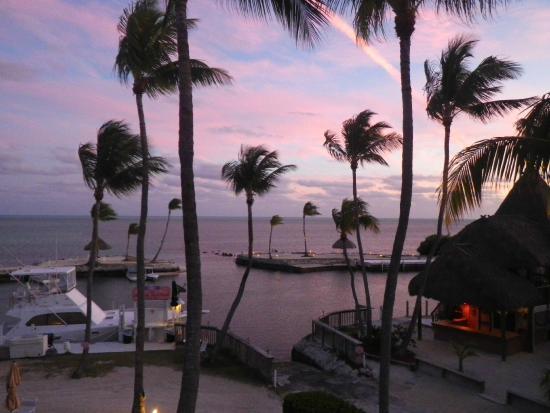 Chesapeake Beach Resort: VIEW FROM BALCONY
