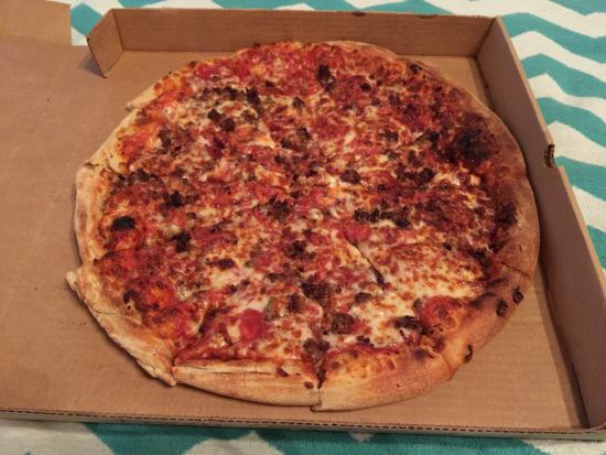 Pepperoni's Pizza: Carnivore Pizza. Highly recommend.