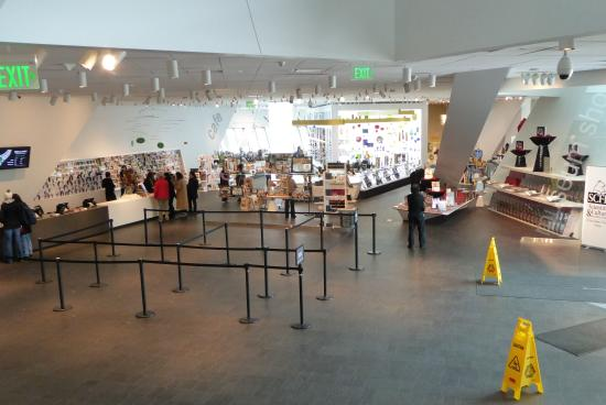 Ticket Sales and Gift Shop Area - Picture of Denver Art Museum ...