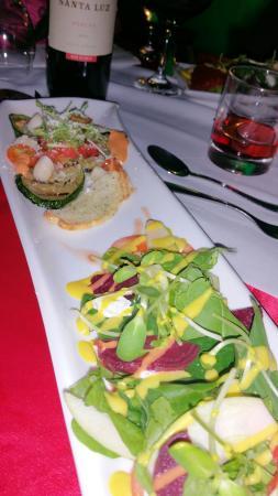 Diamond Suites & Residences: Great salad