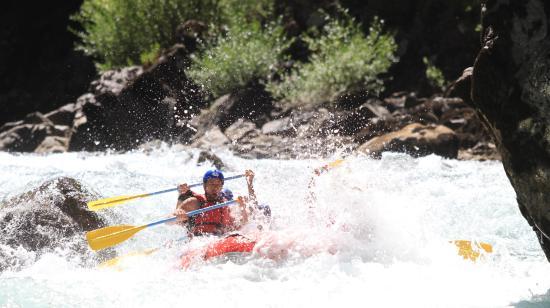 Rafting Punto Límite: fotografia gentileza rafting punto limite