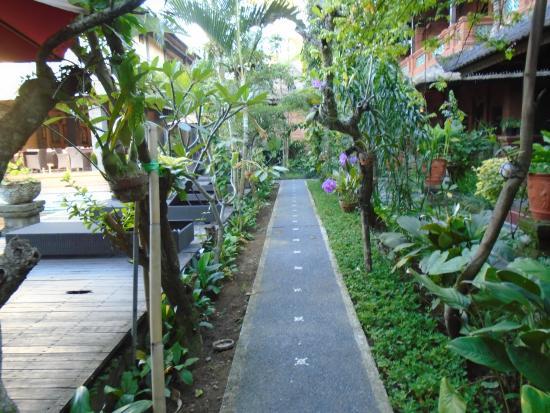 Puri Garden Hotel & Restaurant: To the Reception
