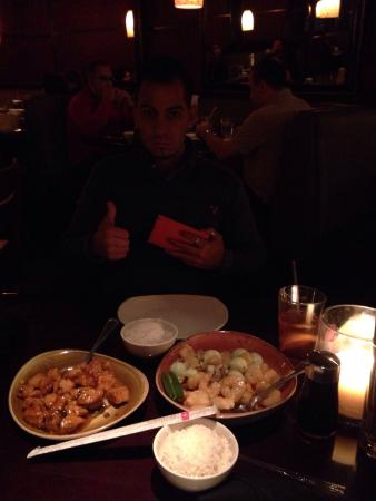 P.F. Chang's: Delicious! Exotic dinner! It's there specialty! Don't remember the name! Just ask for their spec