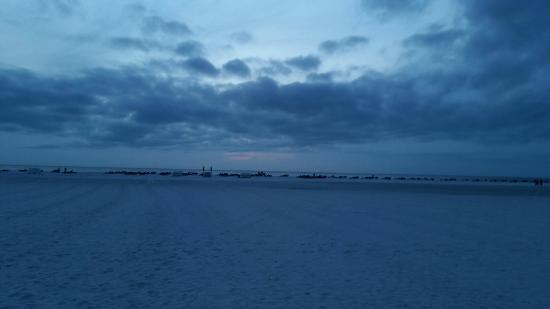 GullWing Beach Resort: view from hotel