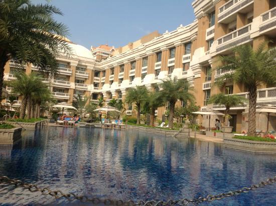 Swimming Pool Picture Of Itc Grand Chola Chennai Chennai Tripadvisor