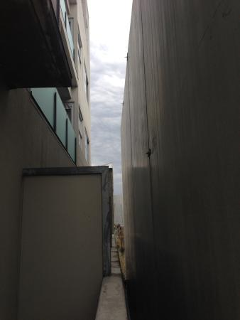 Quest Ponsonby: great view of concrete wall