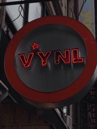 Vinyl: Outside sign