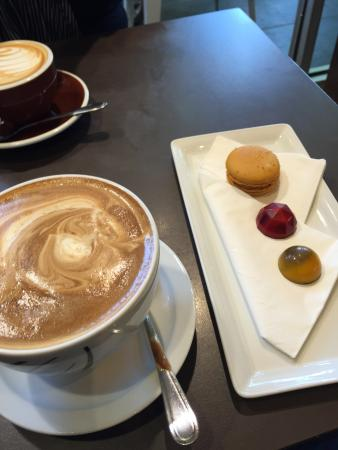 Macaron and designer chocolates at Cacao, St Kilda.