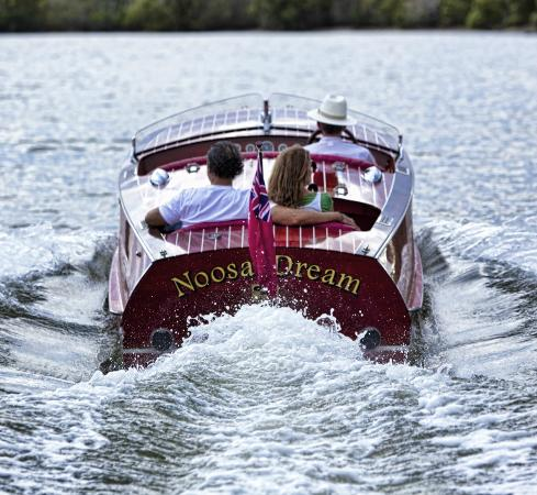 Noosa Dreamboats Classic Boat Cruises: Explore the Noosa River in timeless style