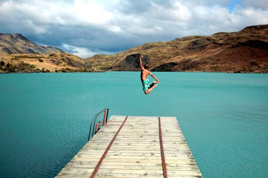 explora Patagonia : Out of the sauna and into the lake