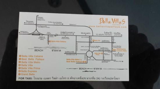 Bella Villa Metro: Визитка отеля