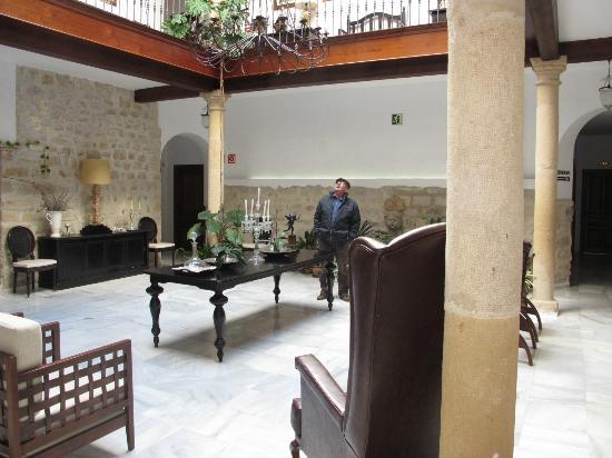 Hotel las Casas del Consul: en la entrada