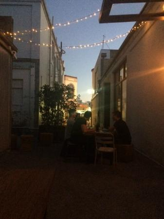 Mister 'D's Bistro: View toward the street