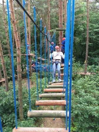 Park Linowy Lesny Raj