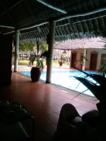 Neptune Village Beach Resort & Spa : View from the spa