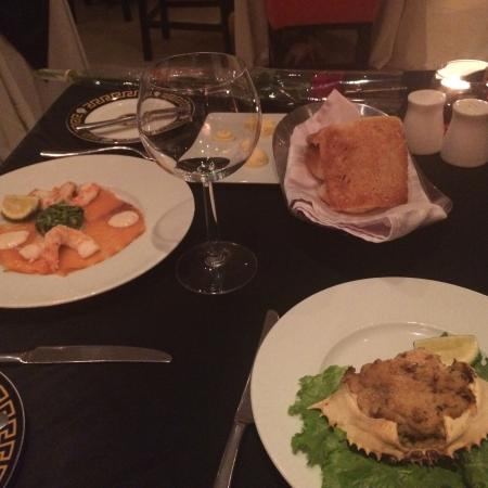 Villa Medici: Valentine's dinner with my wife