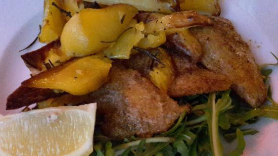 Osteria del Beuc : pesce persico con patate