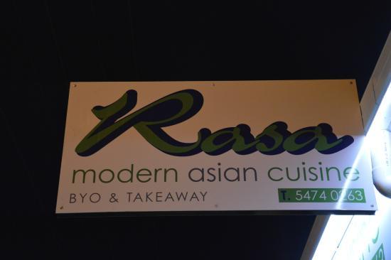 Rasa Modern Asian Cuisine: L'ENTRATA