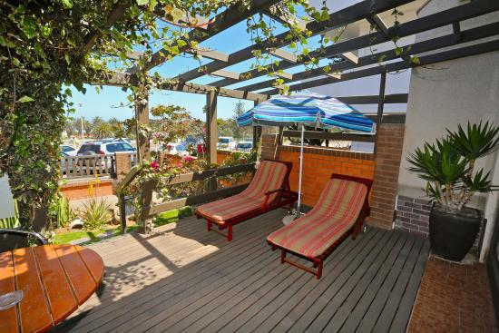 Hotel Pension Rapmund: Sundeck galleryroom