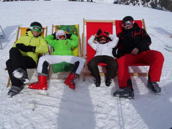 Hotel Toni: Skifahren in Galtür