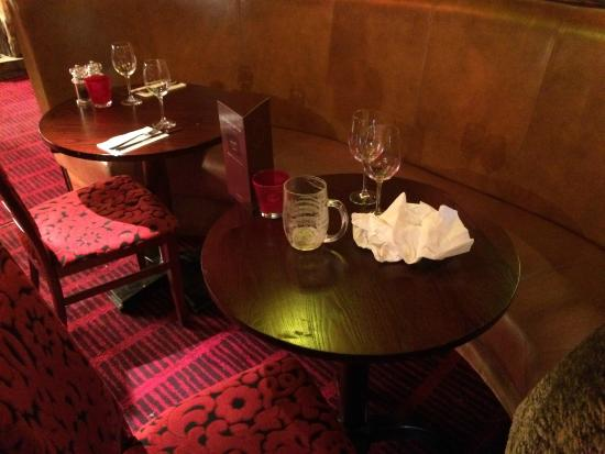 Tables for two - two tables in one booth!  - Miller & Carter, Chelmsford