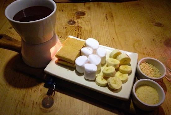 Wye, UK: Fondue fun!