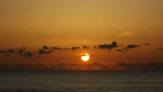 Residencial Mar e Sol: Pôr do sol