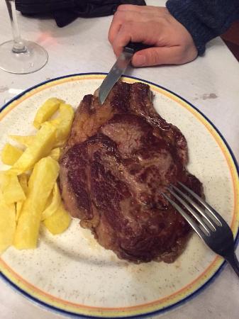 Restaurante Posada Tintes : Chuleton buey