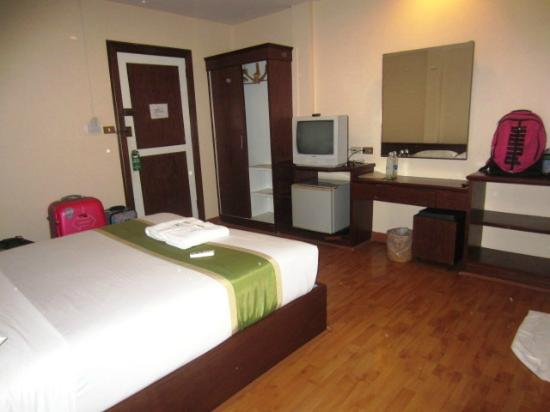 Rayong President Hotel: Bedroom2