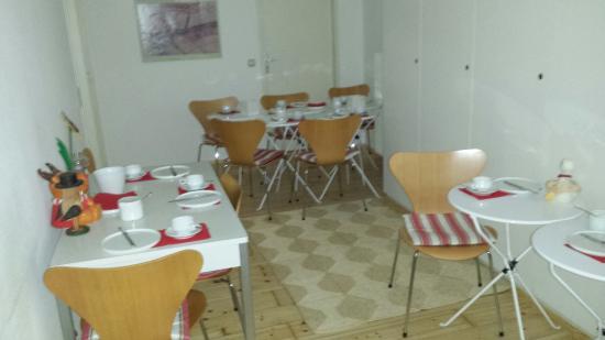 Pension Aller : Sala per la colazione