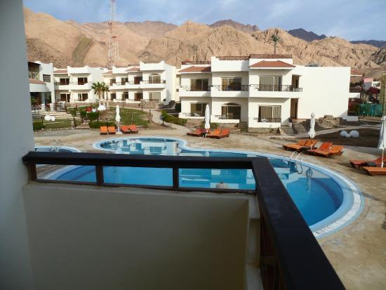 Sea Sun Hotel Dahab: Вид с балкона