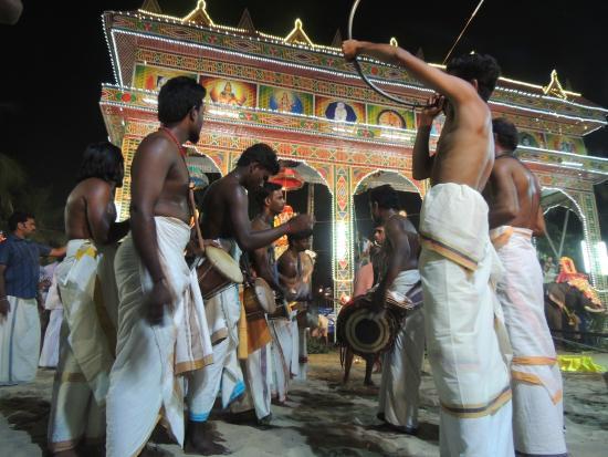 Mararikulam, Ấn Độ: Temple Festival