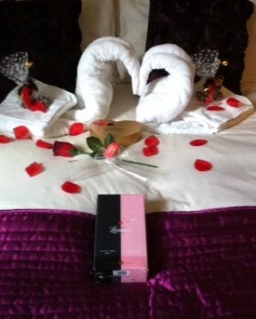 Milverton House: Milverton Valentine rooms