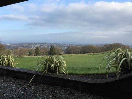 Bryn Meadows Golf, Hotel & Spa: View from ground floor room 115 ... Stunning ��