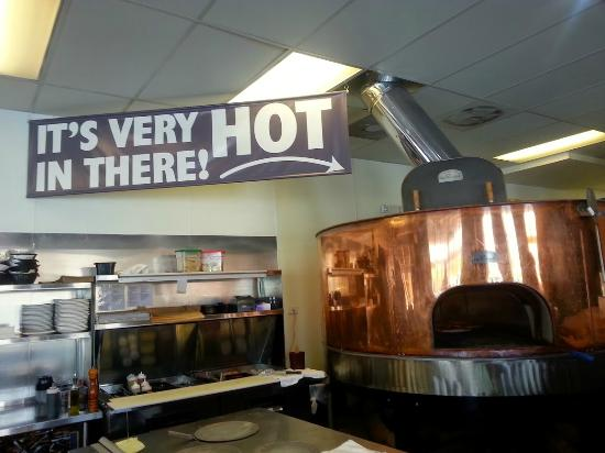 Bricks Wood Fired Pizza & Cafe: This oven is worth checking out.